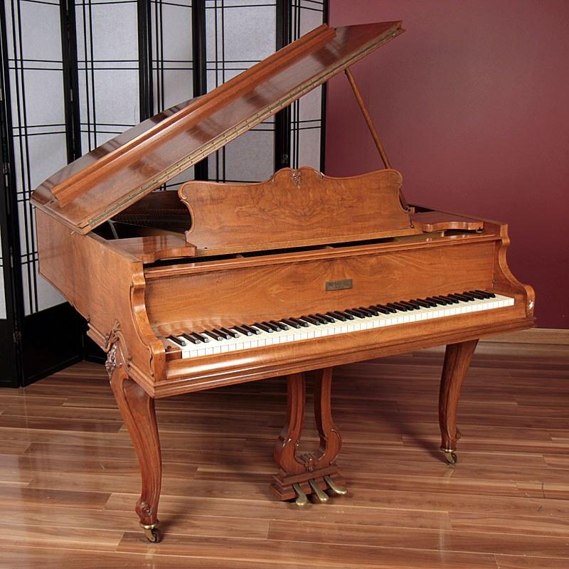 knabe baby grand piano during restoration suzuki cars