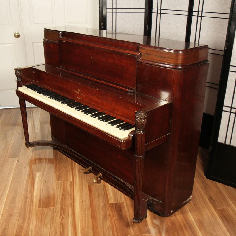 1940 Steinway Studio Lindeblad Piano Restoration