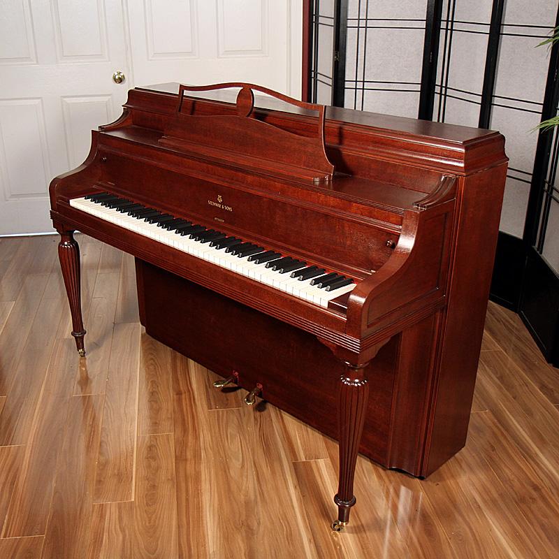 1940 Steinway Console Lindeblad Piano Restoration