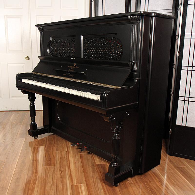 1895 Steinway Upright Lindeblad Piano Restoration