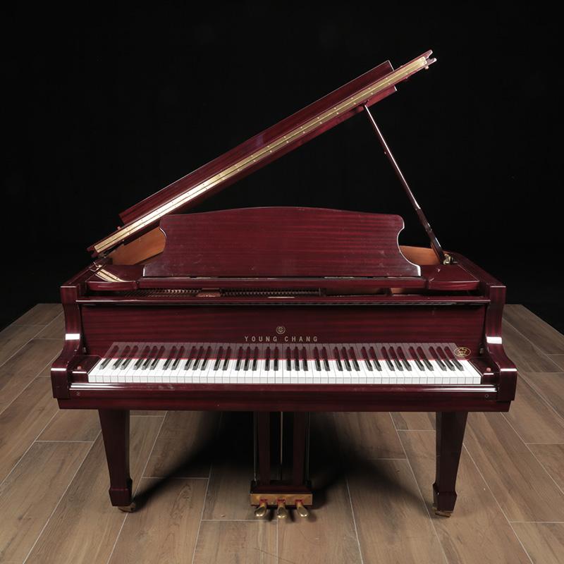 1999 young chang grand lindeblad piano restoration. Black Bedroom Furniture Sets. Home Design Ideas