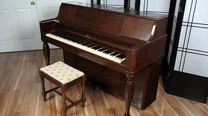 1941 Steinway Upright Console