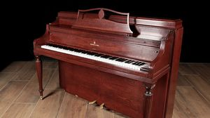 1946 Steinway Upright Console