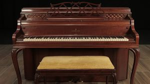 1956 Steinway Upright Console