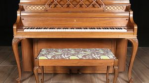 1969 Steinway Upright Console