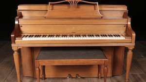 1970 Steinway Upright Console