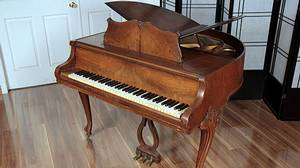 1937 Wurlitzer Butterfly Grand