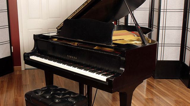 1980 yamaha c3 lindeblad piano for Yamaha c3 piano