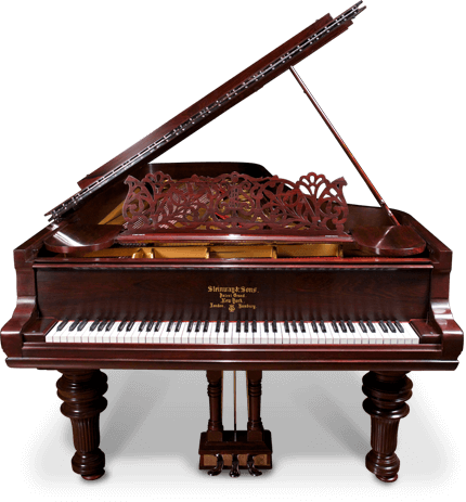 We have over two hundred grand and upright pianos ready to ship or undergo restoration