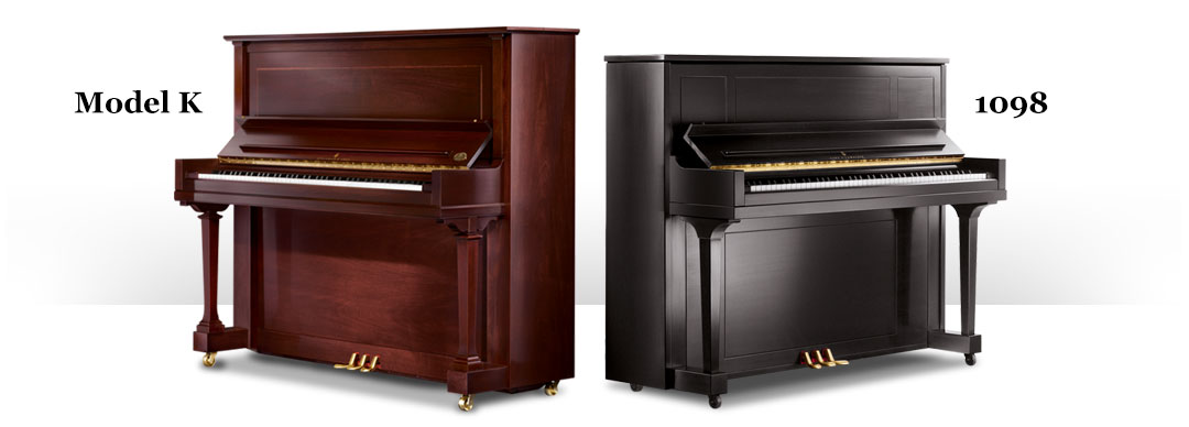 Steinway Model K And Model 1098